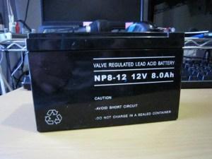 今回購入したバッテリ(CLASSIC PRO UPSB8AH)