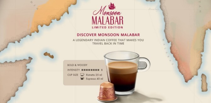 Nespresso Monsoon Malabar