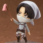Nendoroid 417. Levi Attack on Titan Cleaning Ver