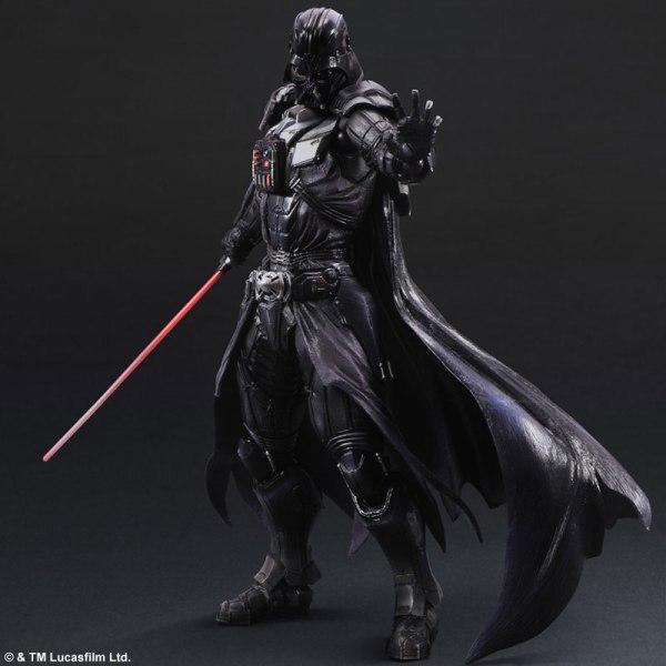 Play Arts Darth Vader - Star Wars / Дарт Вейдер фигурка персонажа Звездные войны