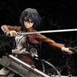 Mikasa Ackerman Attack on Titan Complete figure / Вторжение гигантов Микаса фигурка 5