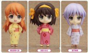 The Melancholy of Haruhi Suzumiya: Haruhi Summer Festival Set [Nendoroid Petite]