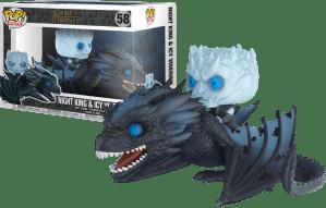 Night King & Dragon - Game of Thrones Funko POP / Король ночи и Дракон - Фанко ПОП Игра Престолов