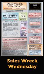Sales Wreck Wednesday