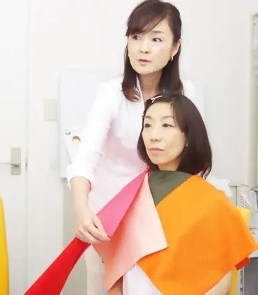 イメージコンサルタント高木千恵のパーソナルカラー診断
