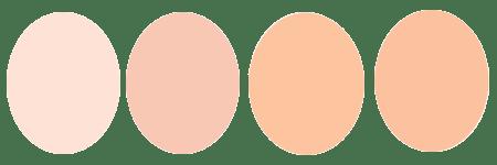 サマーのファンデの色