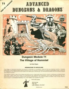 T1: The Village of Hommlet by E. Gary Gygax