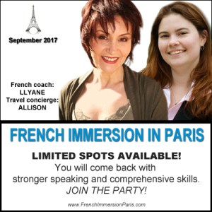 french immersion in paris