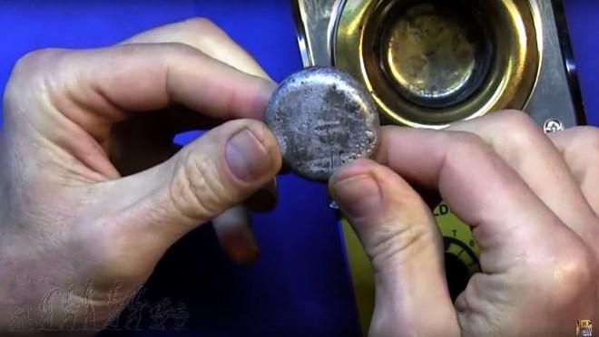 Piezas de plomo