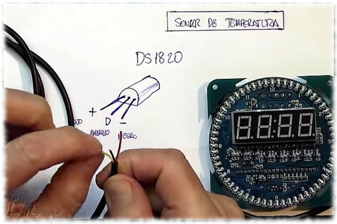 Sensor: DS18B20 (pineado)