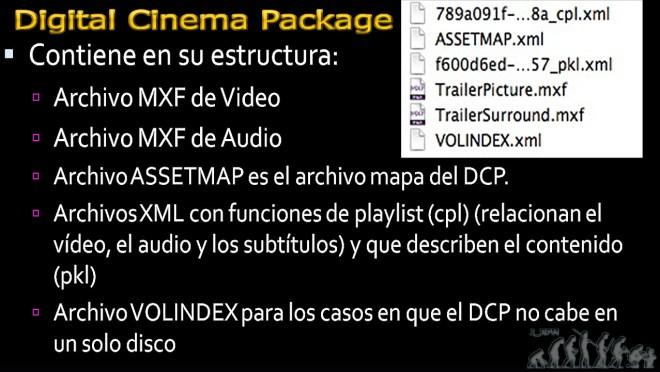 Fichero: Digital Cinema Package