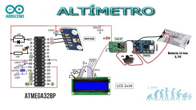 Altímetro (esquema)