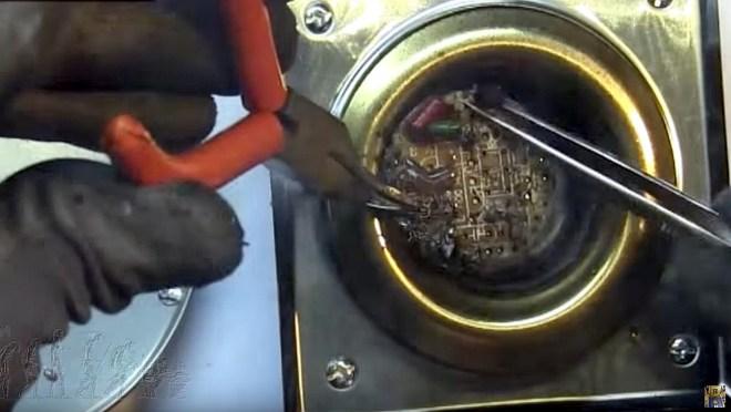 Reciclar componentes electrónicos