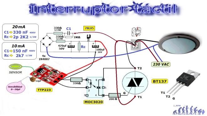 Interruptor táctil
