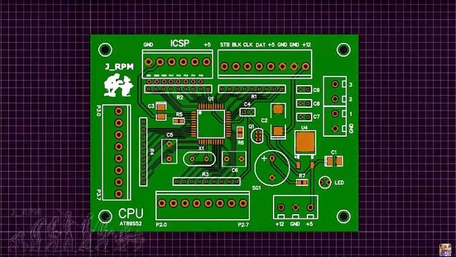 PCB de la CPU