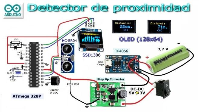 Esquema: Detector de proximidad