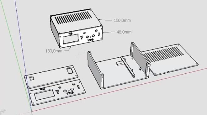 Caja con PLA