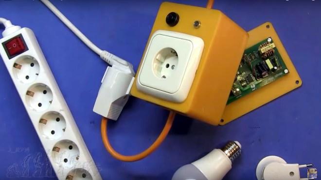 Interruptor inteligente montado
