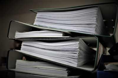 作成資料の保存は厳格に行う必要がある