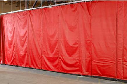loading dock equipment curtain walls