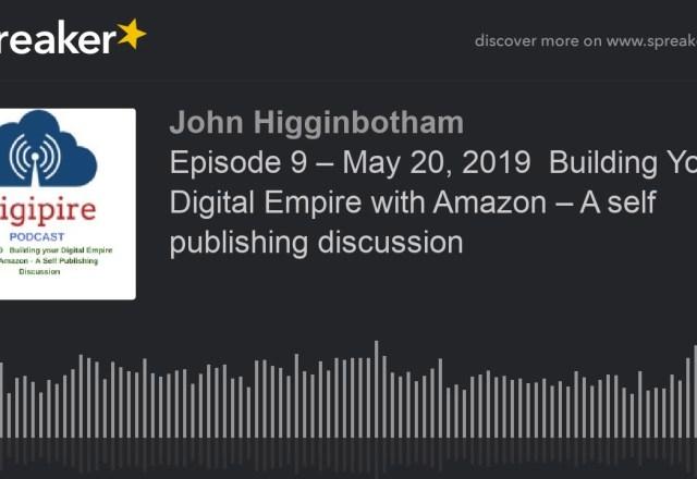 May 2019 – JohnHigginbotham com