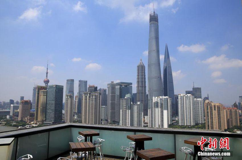 高さ632Mの上海一の高層ビル 最上部の工事が完了--人民網日本語版--人民日報