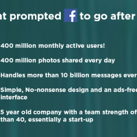 The Data: Why Did Facebook Buy WhatsApp?