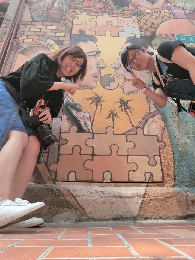 台南景點、美食︱巷弄逛街 像塔羅牌的彩繪牆 富貴冰淇淋專賣店 Rich Gelato