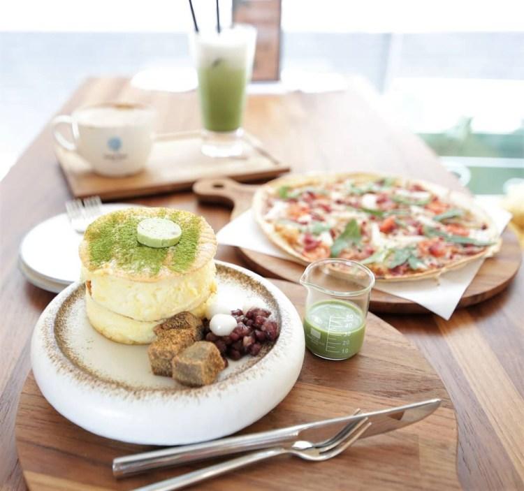 台南美食︱台中來的咖啡店 薄餅與舒芙蕾令人驚豔 Come True Coffee 成真咖啡