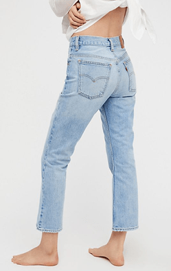 Levi?s 517 Cropped Boot Cut Jeans