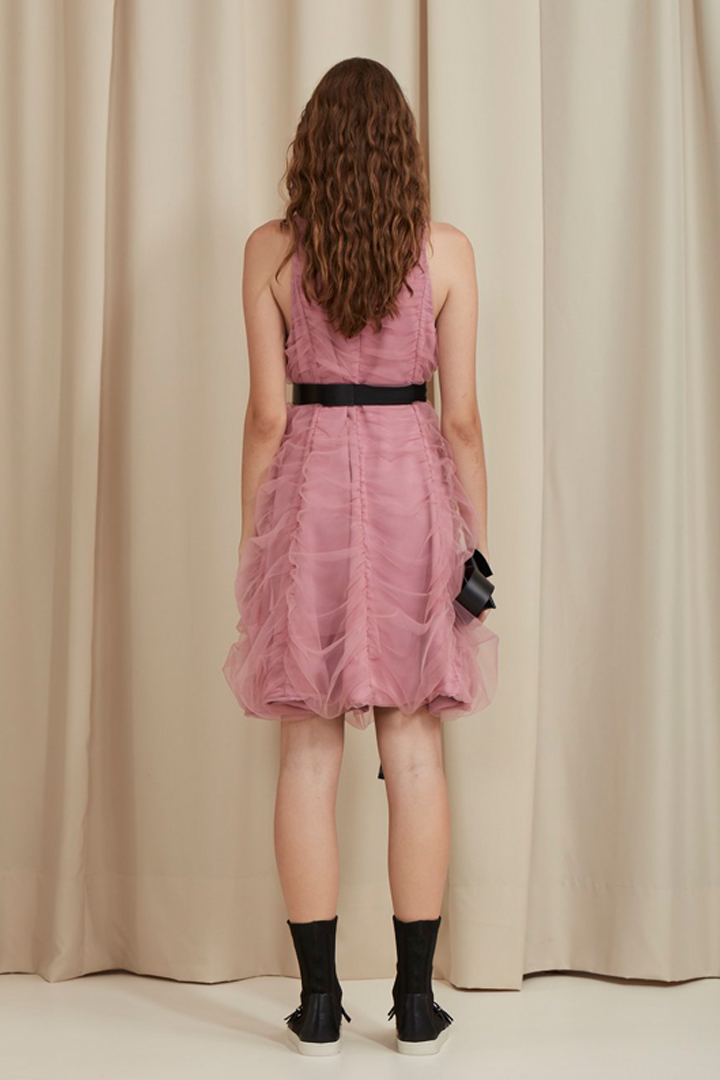 WAVE WORK TULLE DRESS