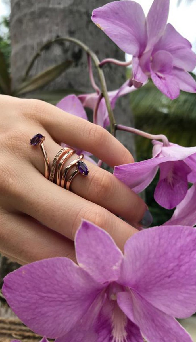 MORNING STAR LILY RING