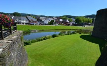 Beautiful views from the Castle looking outward