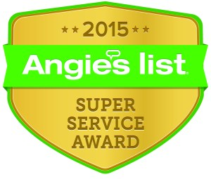 Angie's List Super Service Award to J2 Cleaning Las Vegas for reviews