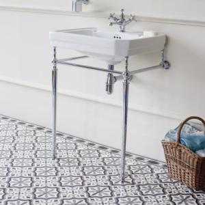 Burlington-Victorian-Large-Basin-and-Chrome-Wash-Stand