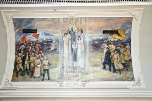Crazy Russian Mural 4