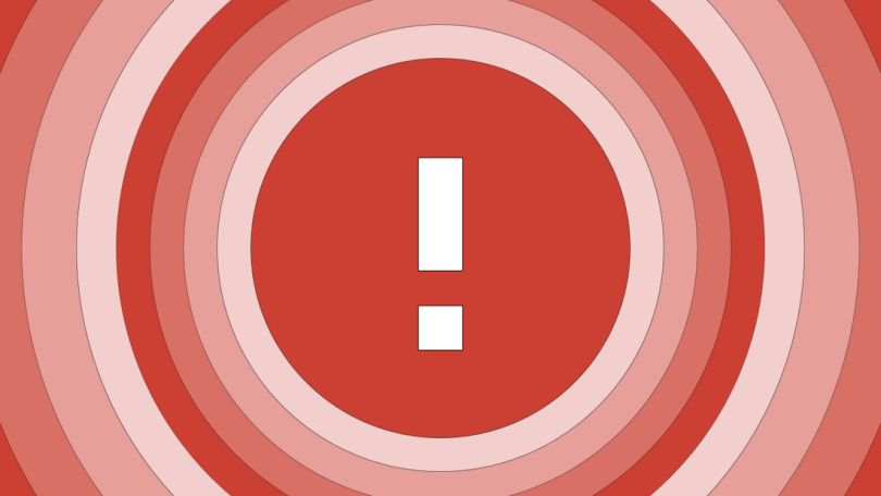 google critical security notification