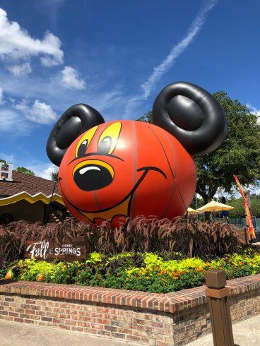 Disney Springs のハロウィンミッキー。
