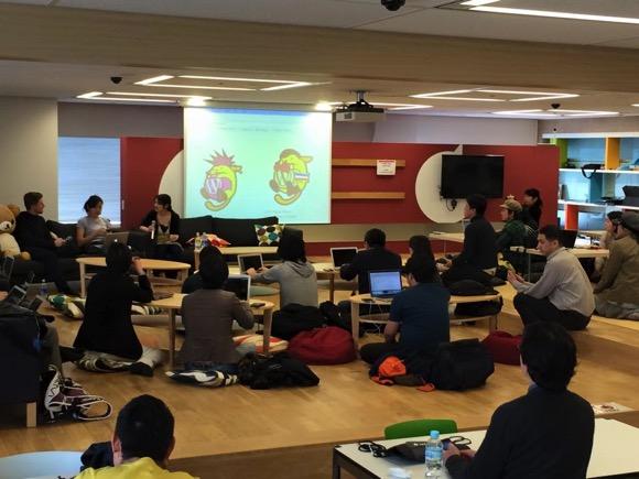 WordBench 東京「マット祭り」会場の様子