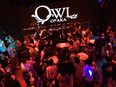 OWL OSAKA での懇親会
