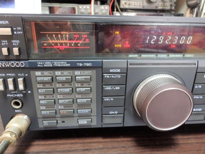 ケンウッドのV/UHF帯オールモード機 TS-790