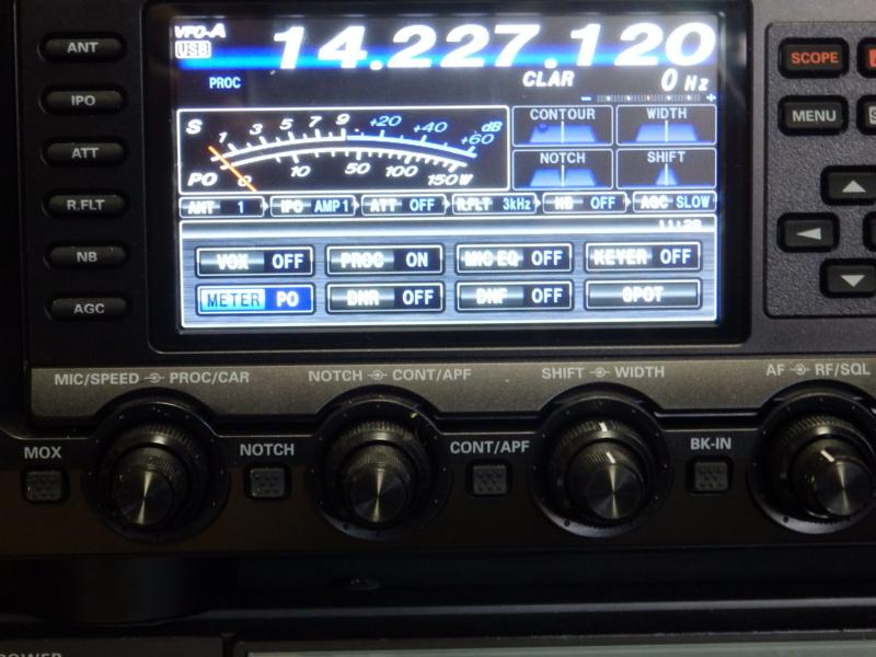 FTDX1200 画面