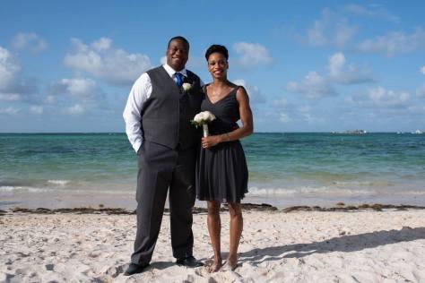 me and bro at wedding