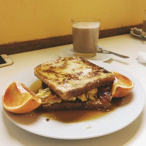 Homebaked -- The Olga: French Toast Sandwich