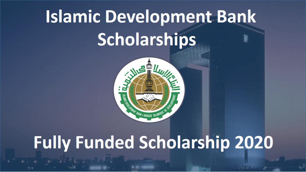[Scholarships 2020] Islamic Development Bank Scholarship