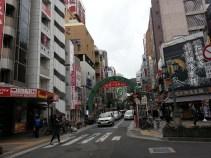 Kobe has nice street gates in the downtown area