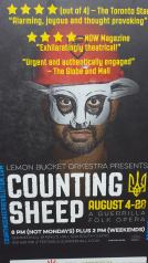 Edinburgh, Scotland - Counting Sheep Poster