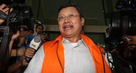 Edi Siswadi, terdakwa korupsi bansos Kota Bandung.(NET)