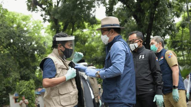 Gubernur Jabar Lantik Unit Edukasi dan Unit Pengawasan COVID-19 Kota Bogor