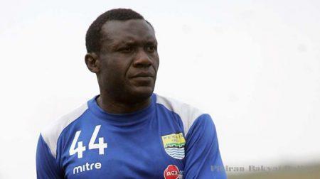 Bomber Persib Herman Dzumafo Epandi